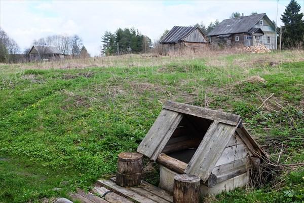 Родник-колодец в Ульяново