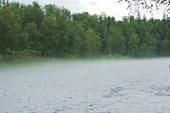 Туман на р.Мана