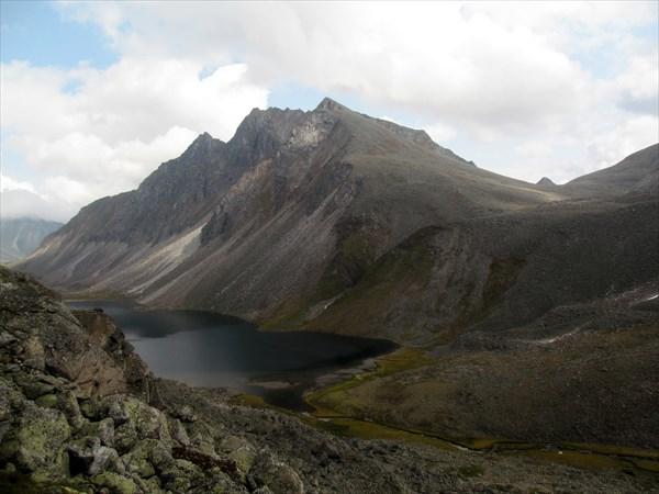 Вид на озеро Холодное