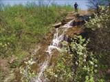 Гонаровский водопад. Луганская обл.