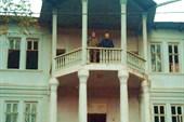 Балкон кофейных церемонь