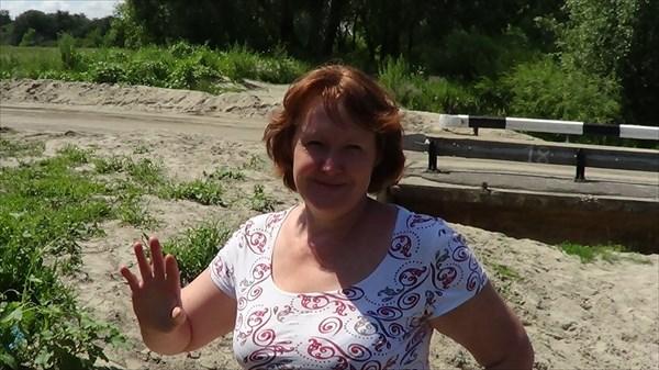 на фото: Моя супруга Марина Орлова