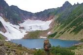 Ледник и перевал Тронова
