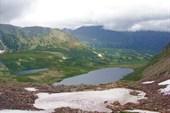 Озеро Харлыгкель с перевала НГПИ