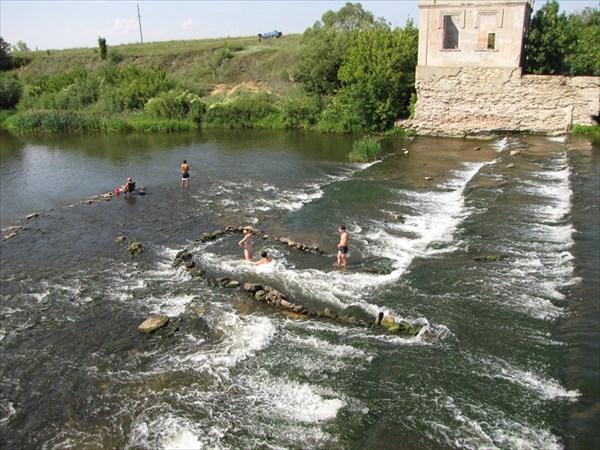 Развалины ГЭС