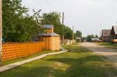 Село староверов Безымянка. Крепкое, растущее.