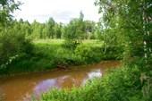 Река Малый Кас. Часть Обь-Енисейского водного пути.