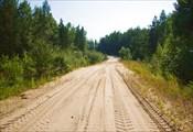 Дорога от Фомки до Безымянки песчано-пыльная.