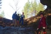 В пещере Кургазакская. Все как люди, а я в шортах