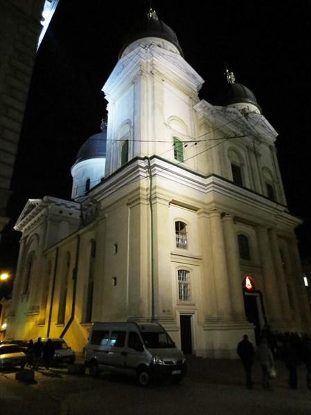 Церковь Преображения Господня (Львов) 1703—1731