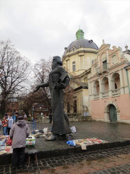 Памятник Ивану Фёдорову (Львов)