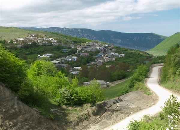 Селения на склонах гор - 1