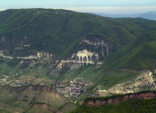 Селения на склонах гор - 2