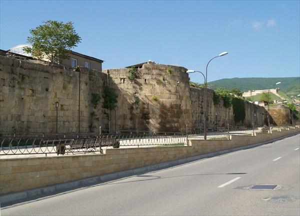 В древнем Дербенте