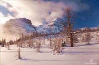 Двухнедельное снегоступное соло по Канадским Скалистым горам