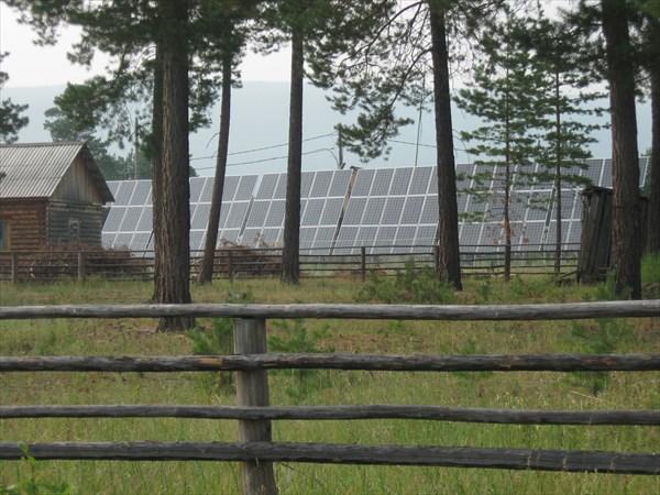 Общественные солнечные батареи