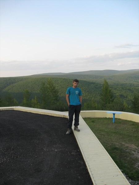 Смотровая площадка на границе Якутии и Амурской области