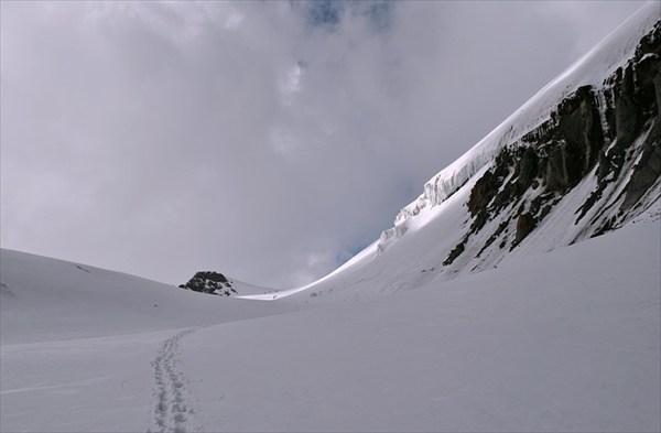 выход на казбекское плато
