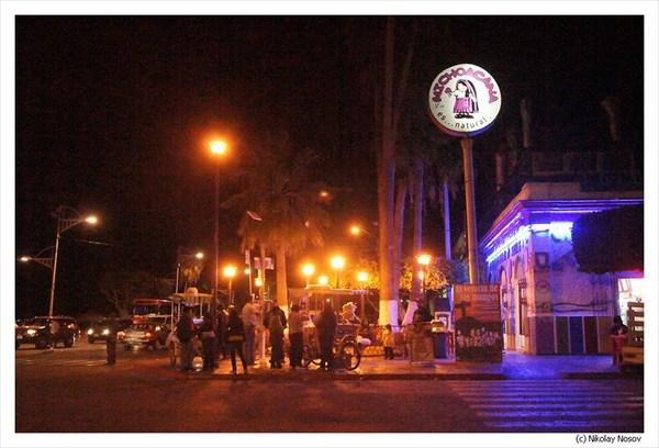 Ла-Пас, Вечерняя набережная
