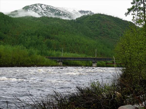 Мост через реку Хани