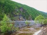 Река Хани после притока Куранах