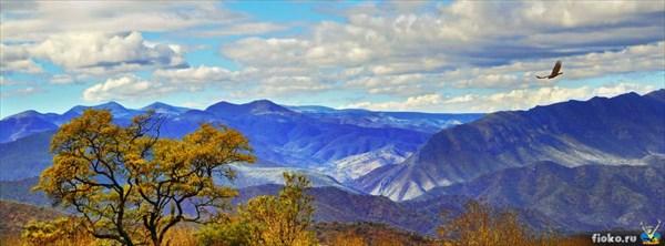Горы близ Теаукана