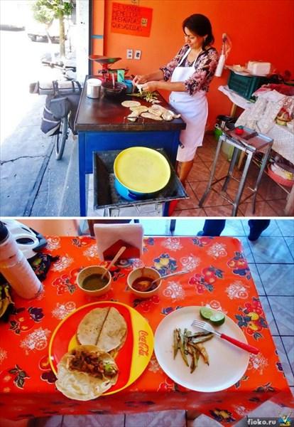 Самые вкусные тако во всей Мексике делают в Теуакане