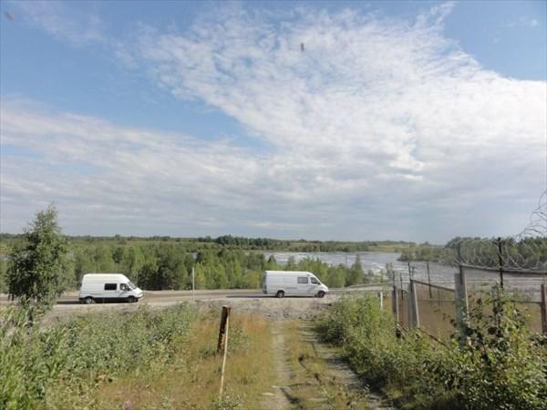 Обнос Подужемской ГЭС