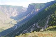 Вид с перевала Кату-Ярык.