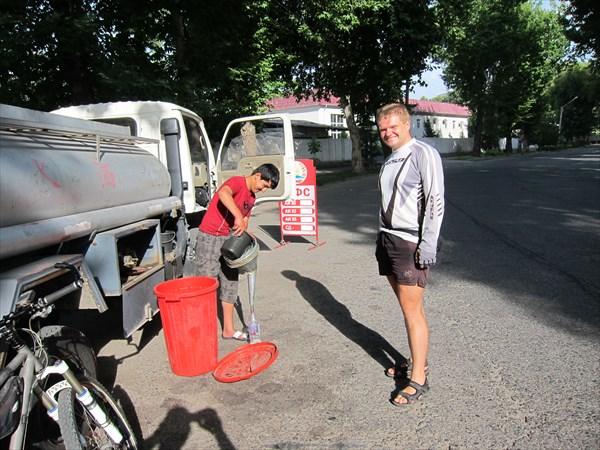Покупка бензина