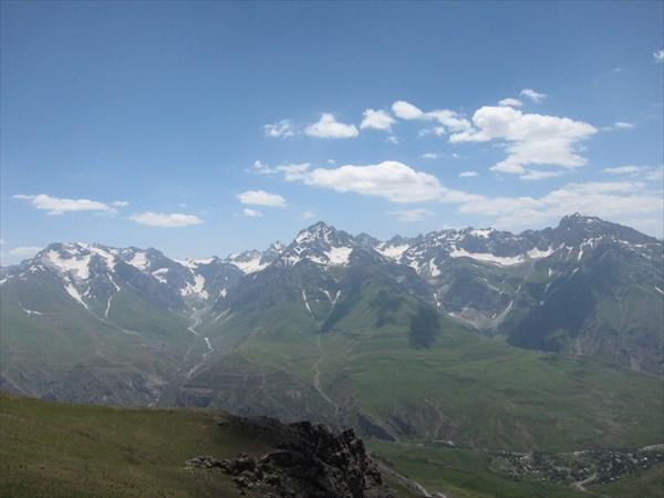 Виды с перевала Анзоб