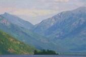 Фото 5. Вид на долину левой Фролихи от озера