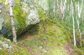 Фото 11. Тропа по каменистому склону