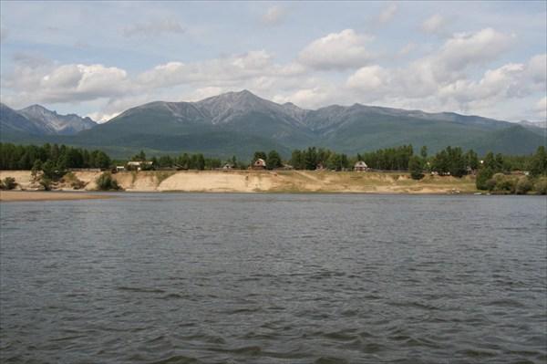 Фото 54. Впереди финиш – лесхоз посёлка Ангоя