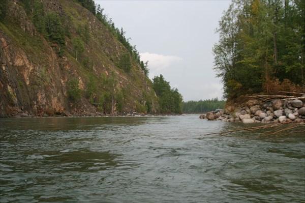 Фото 49. Река Светлая после порога Скалистого