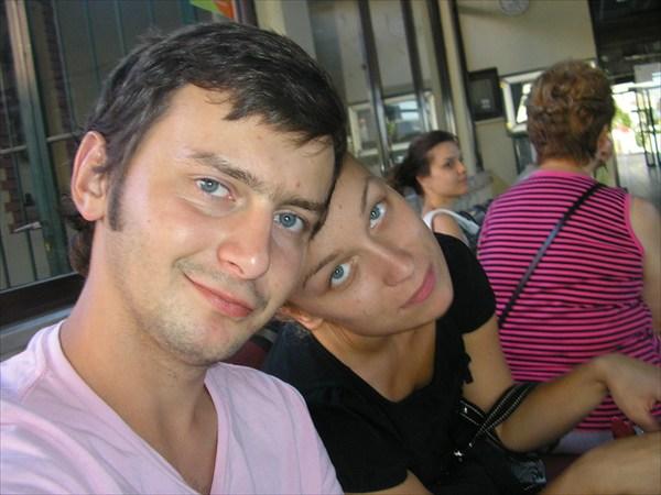 Я и сЕстра из Боснии