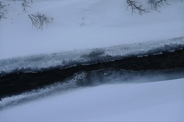 Вода зимой