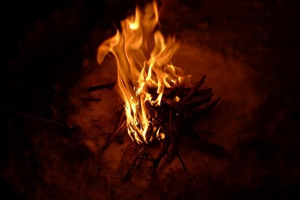 Огонь, который хотел позировать!)