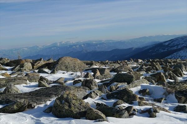Горы - камни