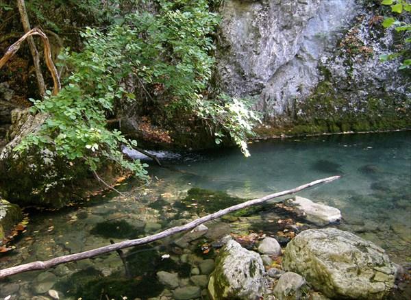 Тут приток Пания впадает в речку Аузун-Узень