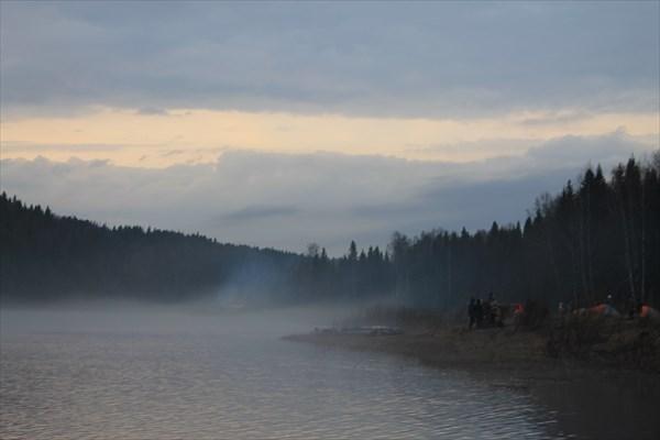 Туман на Усьве