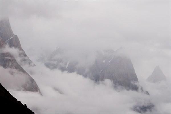Вид гор зависит от погоды