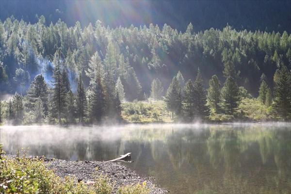 Нижне-Мультинское озеро. рассвет