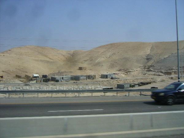Так живут кочевники- дорога к Мёртвому морю