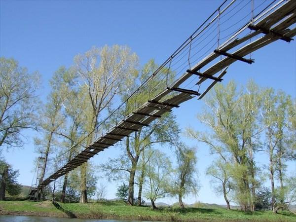 108 подвесной мост