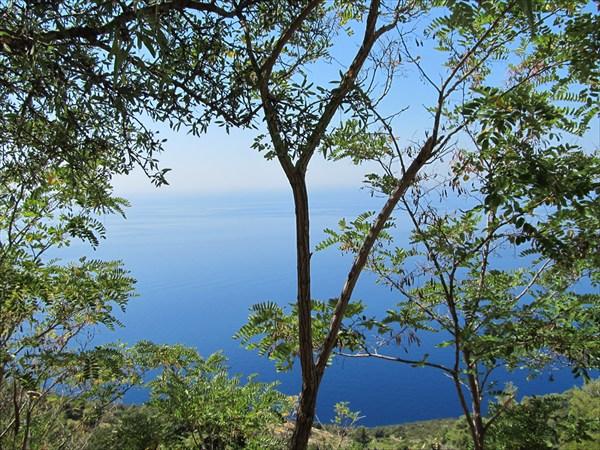 Вид с перевала около Potomje