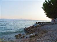 Пляж в кемпинге