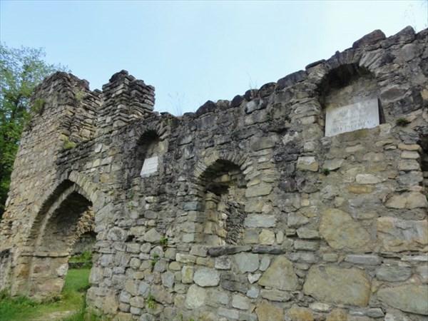 Развалины Академии Зенона, здесь учился Шота Руставели