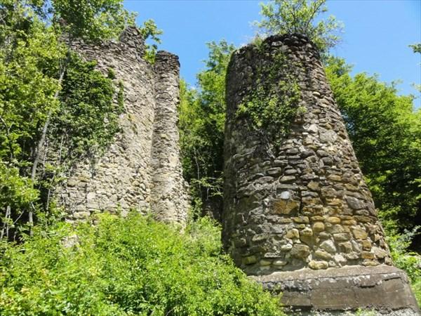 Сторожевые башни города-крепости Кветера
