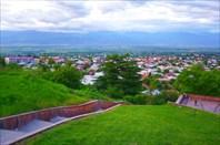 Телави, городской парк.